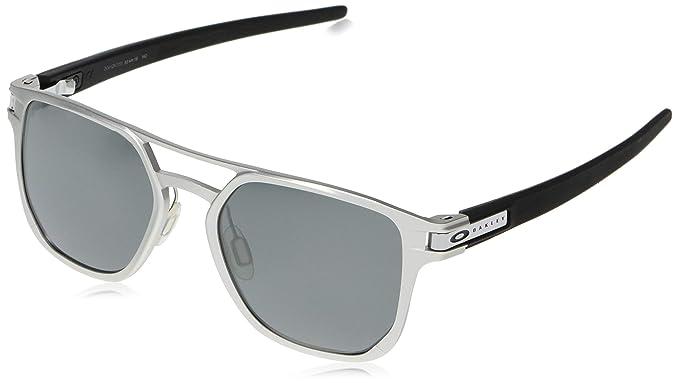 Oakley 0OO4128 Gafas de sol, Matte Silver, 53 para Hombre: Amazon ...