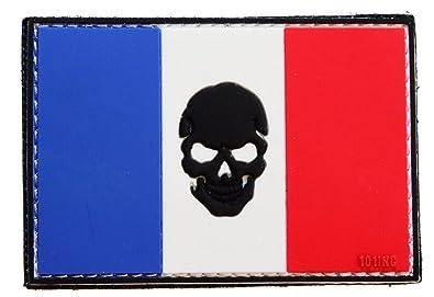 topt mili ecusson Punisher Tete de Mort Drapeau us Skull Crane Moto Biker Eagle thermocollant 7,5x5cm patche Insigne Biker