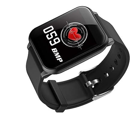 Amazon.com: HAJZF Z02 Smart Watch Waterproof Hear Rate ...