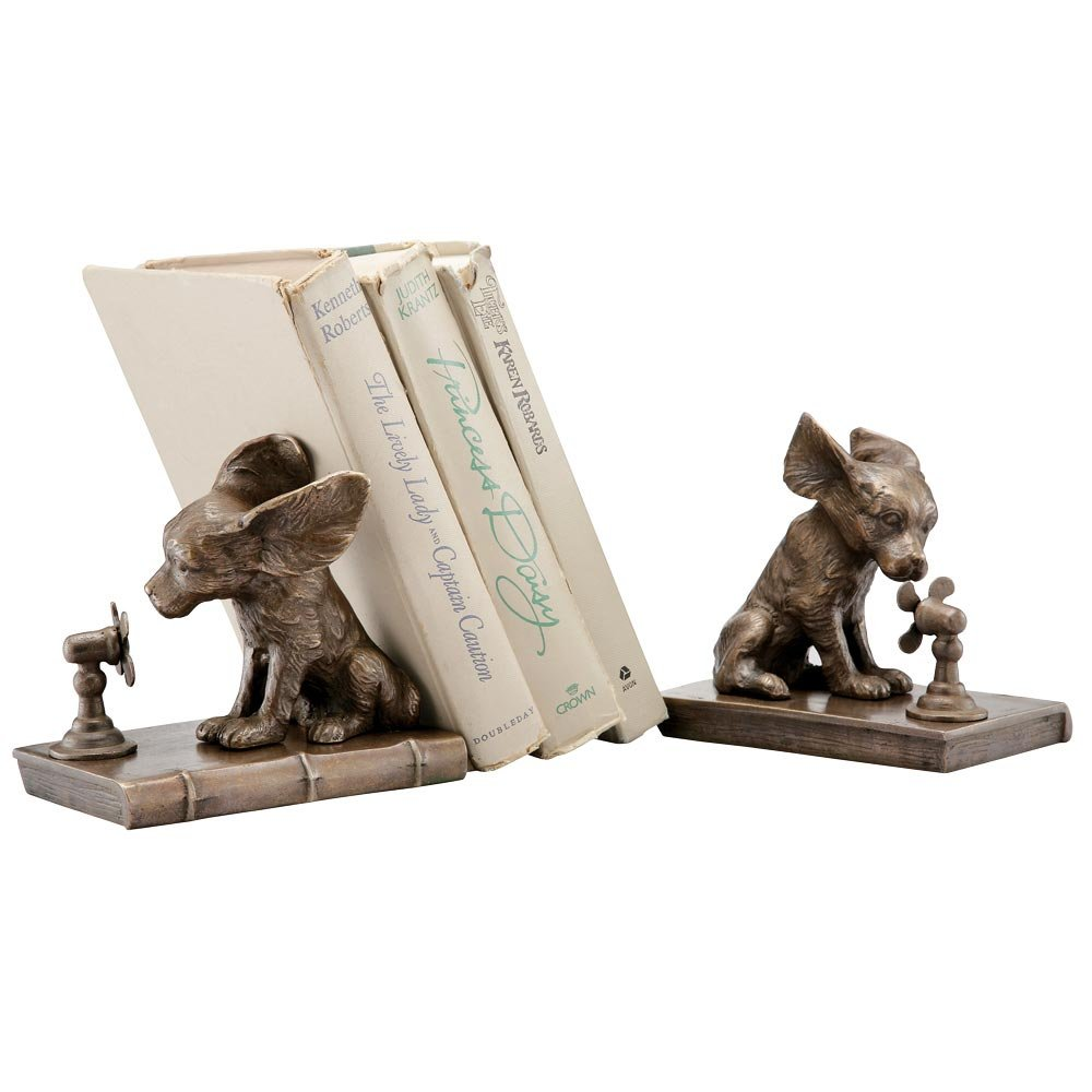 Cool Dog Bookends by San Pacific International Inc