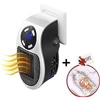 Nifogo Mini Calentador Eléctrico - Calefactor Cerámico,Portátil Calentador