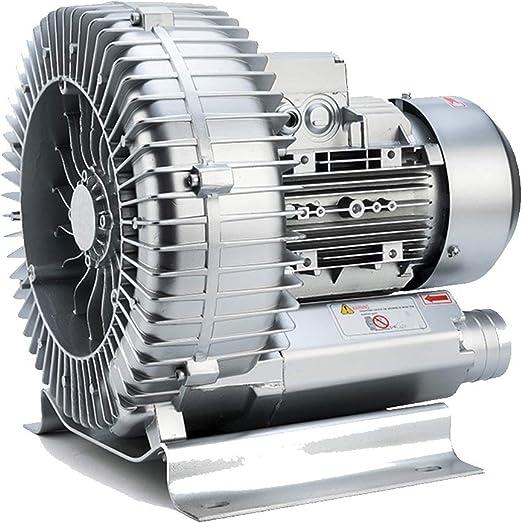 Ventilador centrífugo, Carcasa de aleación de Aluminio, Motor de Cobre Puro, Base sísmica, Ventilador de Alta presión de succión y succión de Doble propósito, Estanque de Peces de 220V / 380V,: Amazon.es: