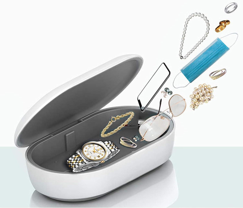 Make-up Pinsel Uhr usw Brille Ohrh/örer UV-C Sterilization Box 253,7nm UV lampe Sterilisator Tragbar 2 Desinfektionsmodi Desinfektion f/ür Zahnb/ürste Beobachten Schmuck Handys