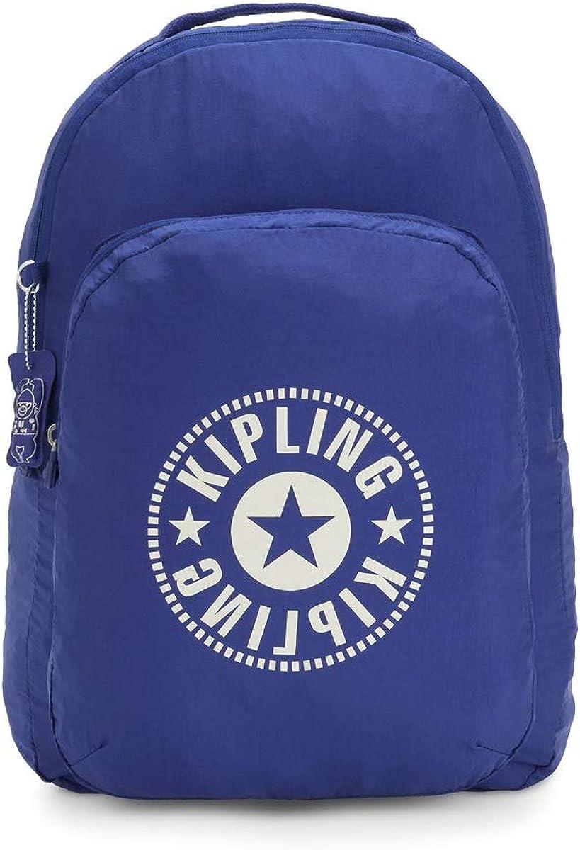 Kipling KiplingBackpackMujerMochilasAzul (Laser Blue Light) 33x44x14 Centimeters (B x H x T): Amazon.es: Zapatos y complementos