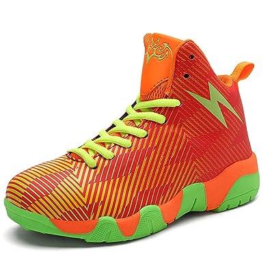 ultime tendenze negozio del Regno Unito data di rilascio Scarpe da Basket Alte per Bambini Scarpe da Ginnastica Rosse ...