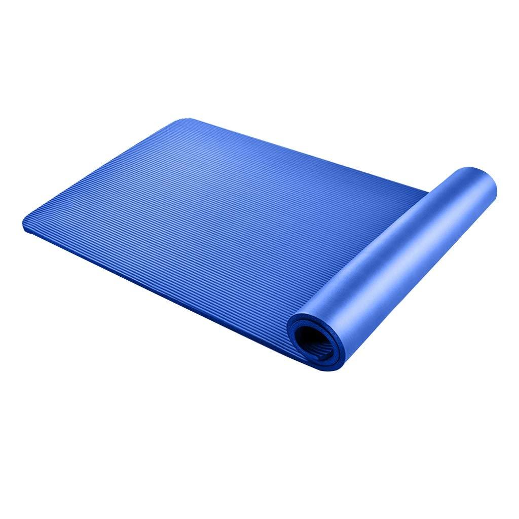 Dark Blau 185801cm Zs-zs NBR Yoga-Matte Verdickung Erweiterung Lange Weiche 185  80  1cm, 185  80  1,5 cm Sport Fitness-Matte