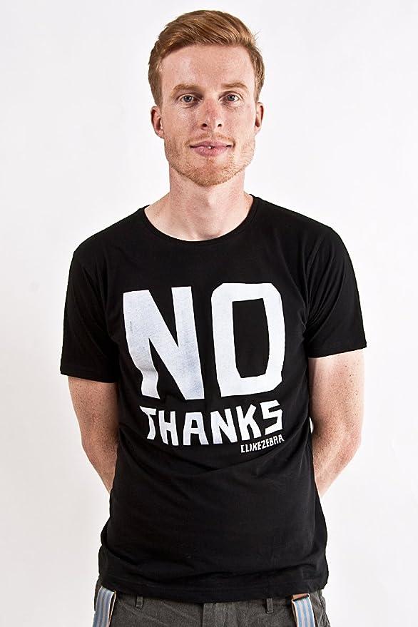 C like ZEBRA - Camiseta - para hombre Negro negro large: Amazon.es: Ropa y accesorios