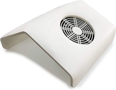 Crisnails ® Aspiradores de Polvo de Uñas para Manicura y Pedicura Herramienta Profesional (GrandeBlanco): Amazon.es: Hogar
