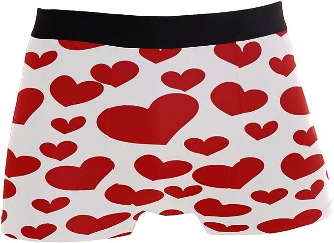 Heart Boxer Briefs for Men