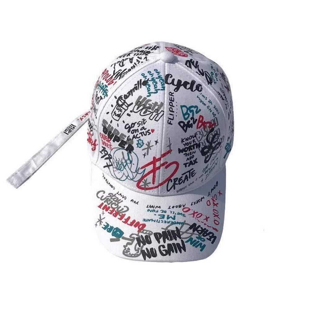 Angoter Cappelli Graffiti Baseball Registrabile della Protezione Cotone di Hip Hop di Snapback per Uomini E Donne