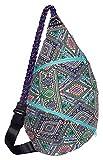 Slope Rope Sling Bag Crossbody Shoulder Backpack Everyday Man ,Women, Teens Bag - Feather