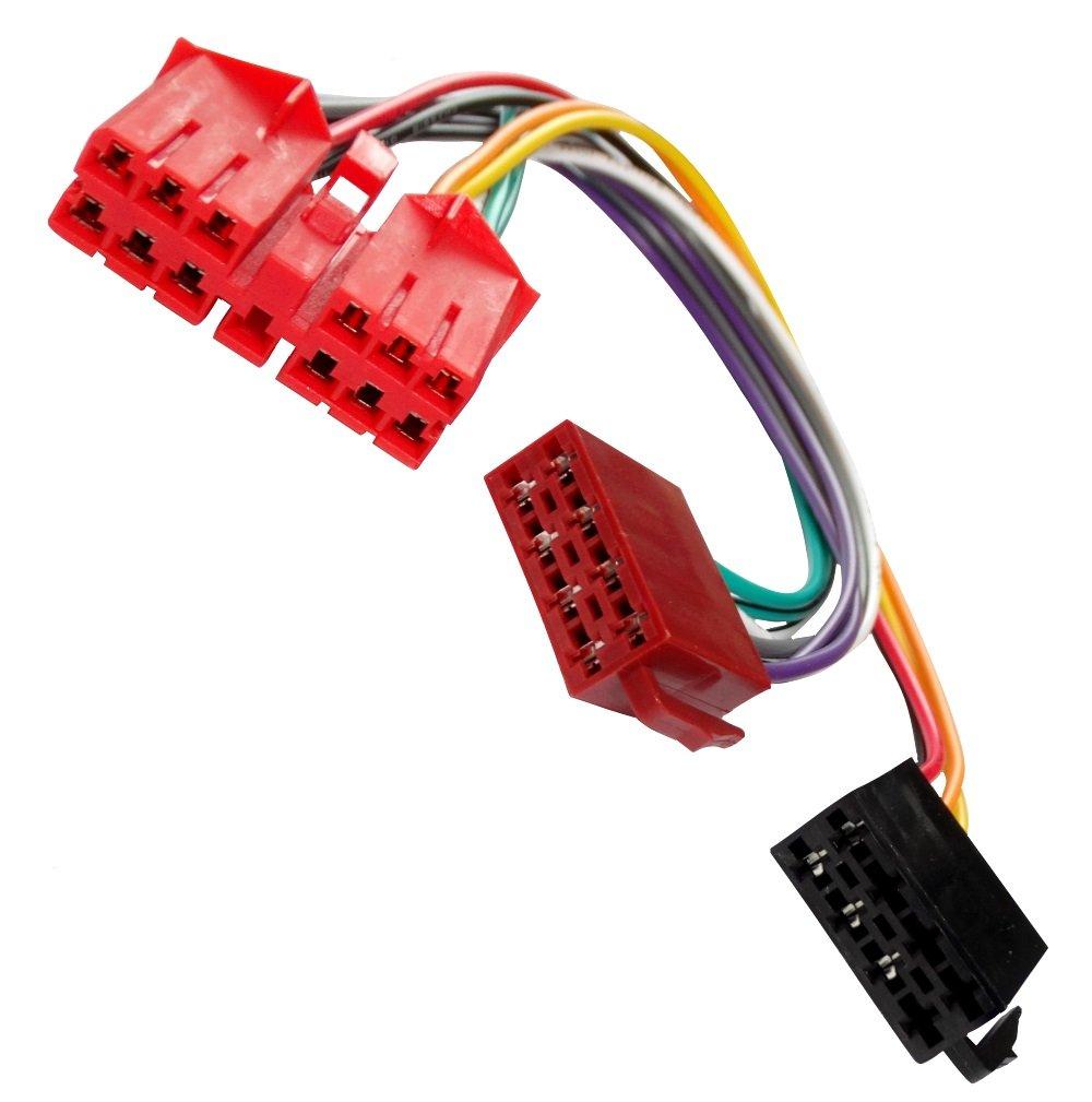 Aerzetix: Adaptateur faisceau câble fiche ISO pour autoradio d'origine C40114