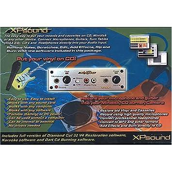 Amazon.com: XP XP201 Phono/micrófono preamplificador de ...