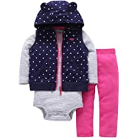 OBEEII Newborn Baby Girl Outfits Daddy's Little Princess Birthday Party Casual Holiday Playwear Photo Prop Fancy Costume