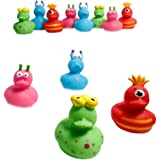 Fun Express 12 Vinyl Monster Rubber Duckies