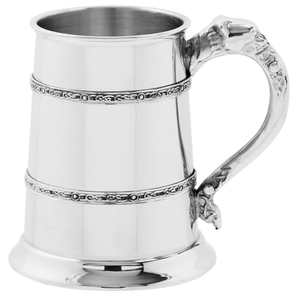 English Pewter Company Celtic Lion 1 Pint Pewter Tankard [CEL300]