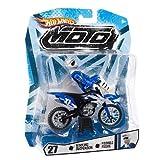 hot wheels moto - Hot Wheels MOTO #27 (Blue, Black, White) Dewart ~4.5
