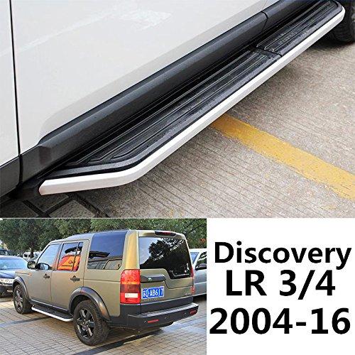 (Side Steps For Land Rover Discovery 3 4 LR3 LR4 2004-2016 Door Nurf Bar Running Board OEM Style)