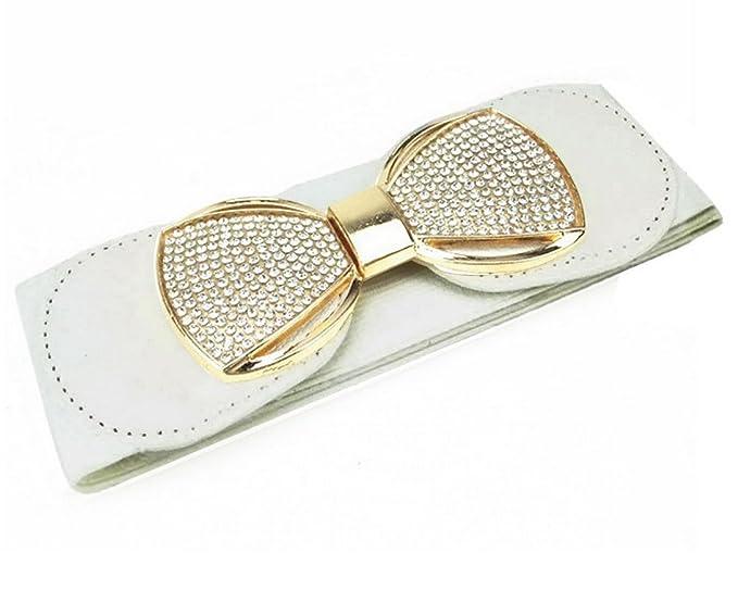 Edwardian Accessories Rhinestone Womens Adjustable Waist Belt Cinch Black $13.29 AT vintagedancer.com