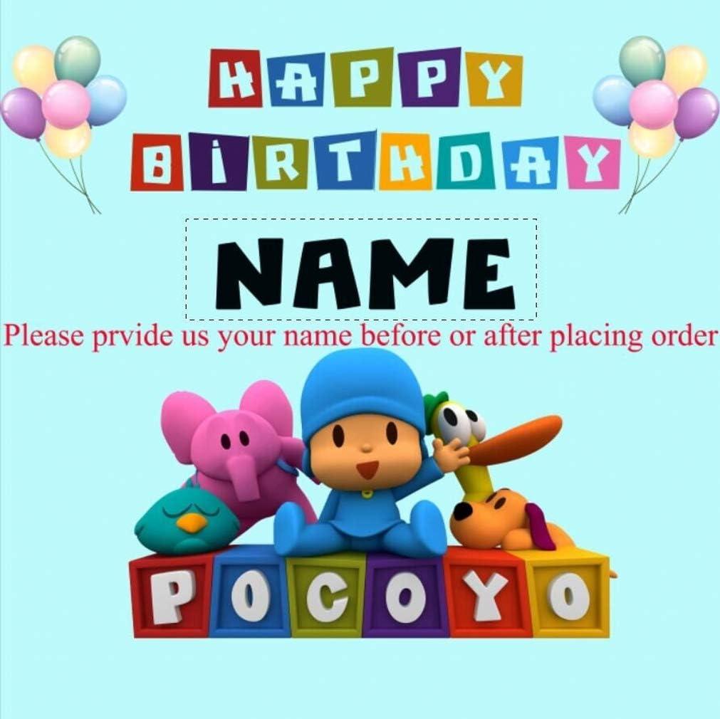 Amazon.com: Personalizado Nombre Pocoyo Tema Fotografía ...