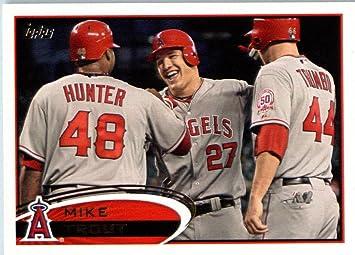 2012 topps team edition baseball card ang7 mike trout angels 2012 topps team edition baseball card ang7 mike trout angels encased mlb baseball card sciox Gallery