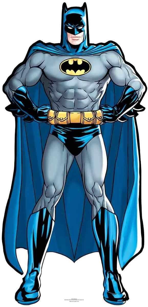92 x 44 x 92 cm Multicolore STAR CUTOUTS DC Comics Batman D/écoup/é en Carton