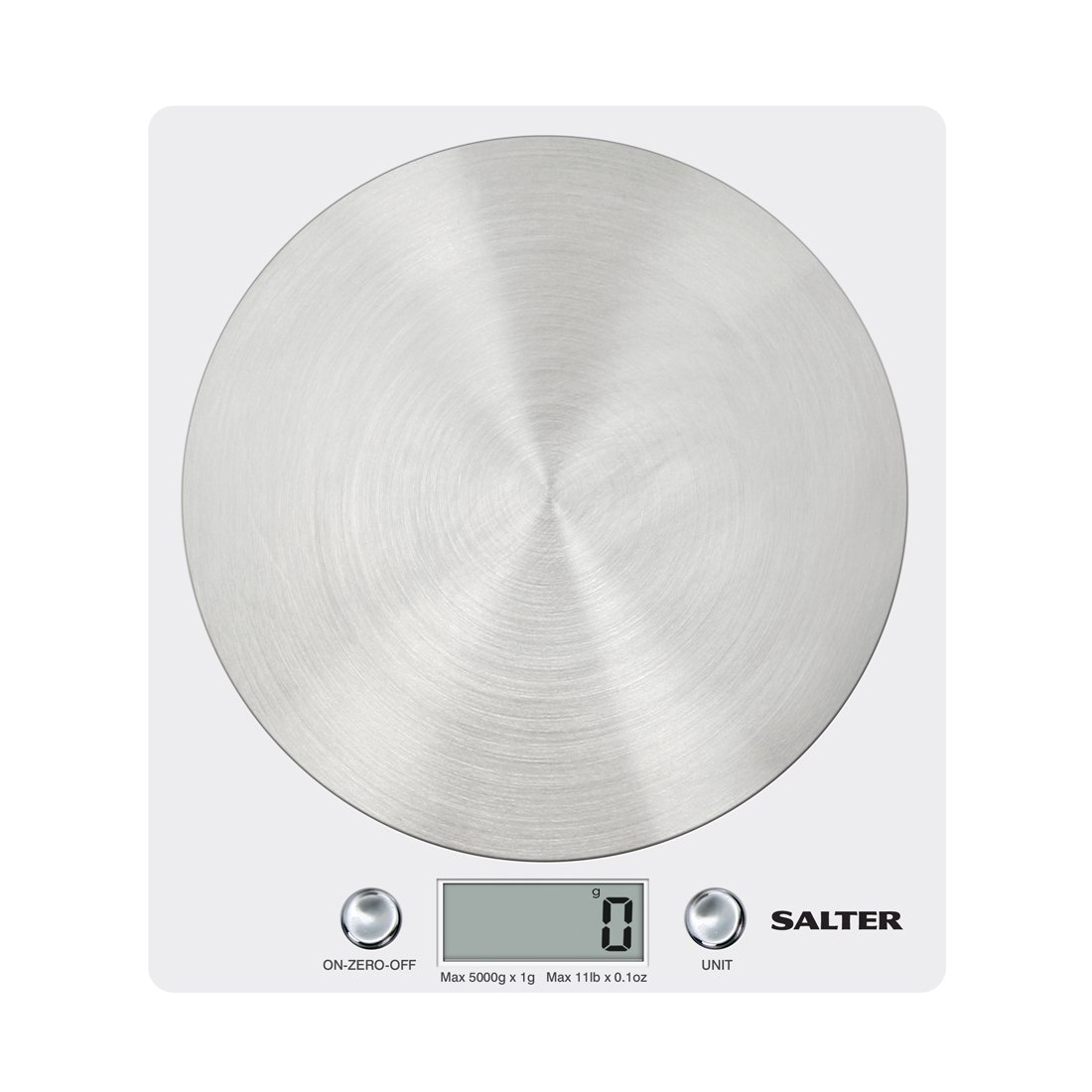 Amazon.com: Block Electronic Kitchen Scale White 1036WHSSDR: Kitchen & Dining