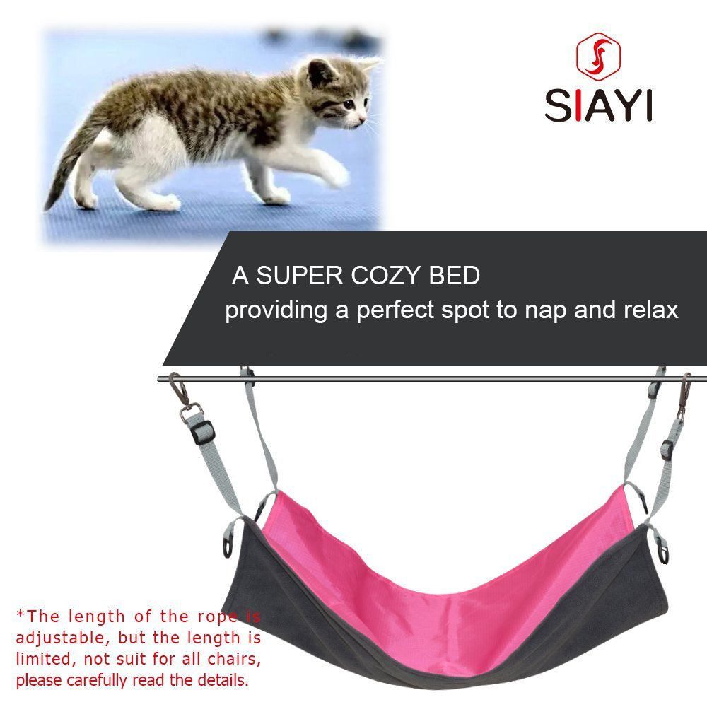 SIAYI Reversible Gato Hamaca Cama Mascota Hamaca Impermeable para Pequeñas Mascotas: Amazon.es: Productos para mascotas
