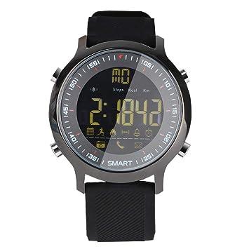 Xiao Jian- Multifunción de los nuevos Hombres de los Deportes Reloj Inteligente Bluetooth Impermeable Luminoso Fuerzas Especiales Wild Mountain Climbing ...