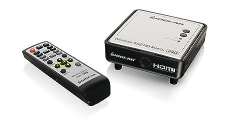 iogear GWHDRX01 3D Negro, Plata - Receptor AV (Inalámbrico y alámbrico, 1920 x 1080 (HD 1080), 1080p, 96 mm, 96 mm, 38,1 mm): Amazon.es: Electrónica