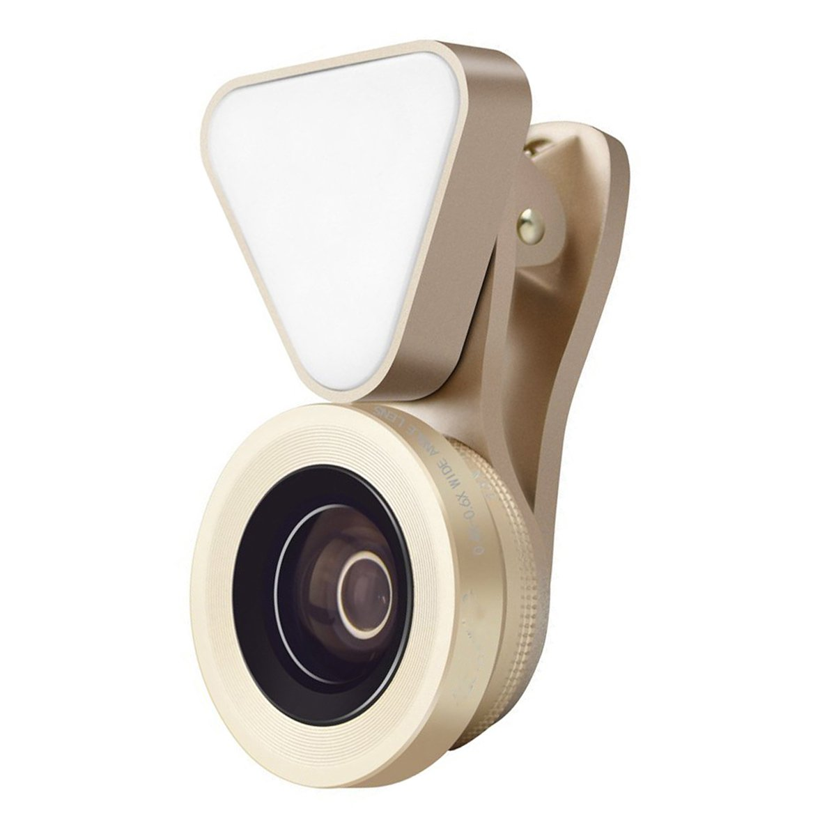 OLSUS Clip-On Fill Light Camera Lens - Golden