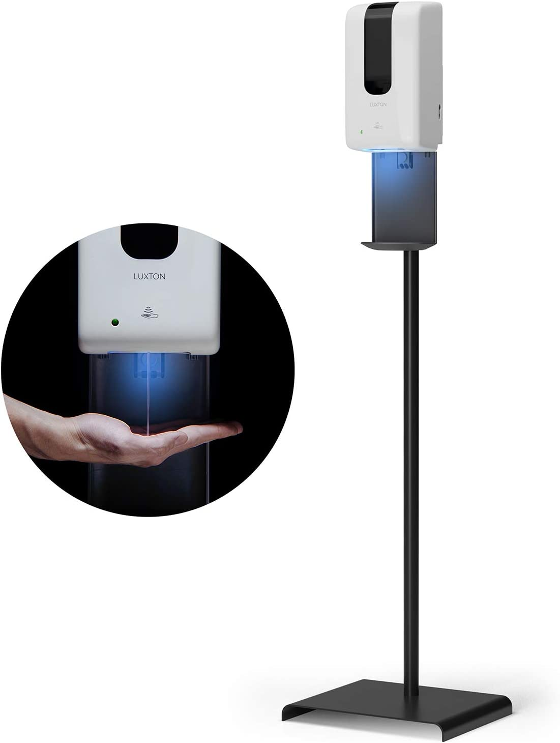 Luxton Automatic Hand Sanitizer Dispenser with Stand