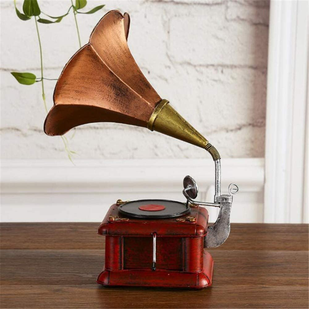 shunlidas Suerte Mopec Decorativas Vintage Gramófono Retro Vinilo ...