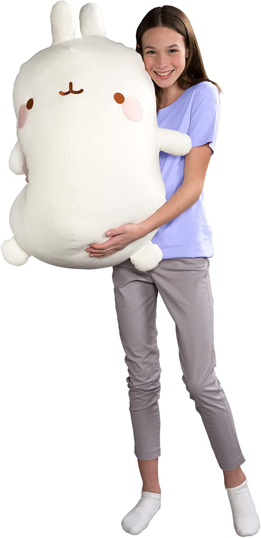 Molang L66053 Giant Plush Toy Teddy Bear White