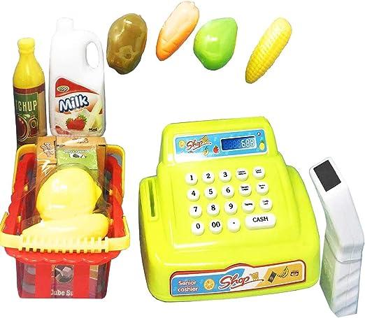 Bullycan Juguete-Caja registradora de supermercado 26 uds: Amazon.es: Hogar