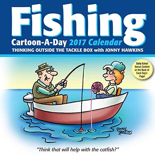 Fishing Cartoon-a-Day 2017 Calendar