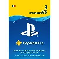 PlayStation Plus: abonnement de 3mois   Code Jeu PSN - Compte français