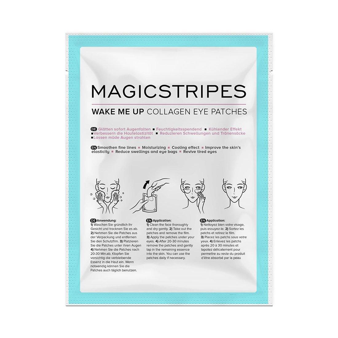 Magicstripes Wake Me Up Collagen Eye Patches, Einzelmaske SKU-SINGLE2