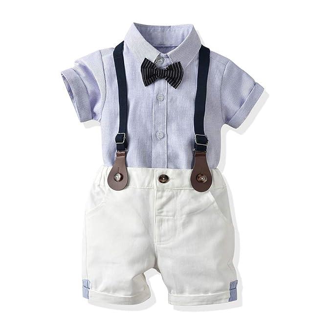 Amazon.com: moyikiss Studio Baby Boy verano algodón ...
