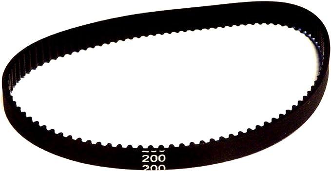 Correa dentada redonda de goma 2GT, de 6 mm de ancho x 200, 280 ...