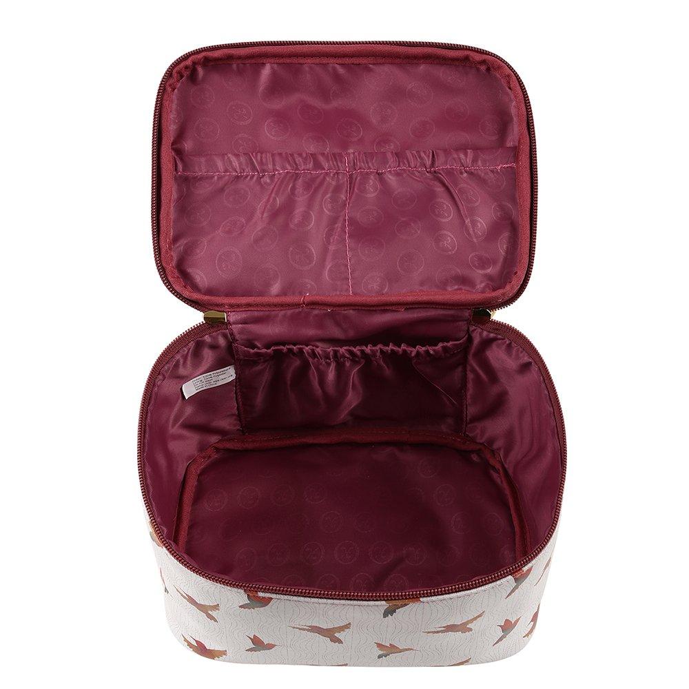 TaylorHe Make-up Bag Wasserdicht Kosmetiktasche Schminktasche mit Griff Kulturbeutel Geldbeutel Beutel Mehrfarbig Tasche mit Mustern Pferd