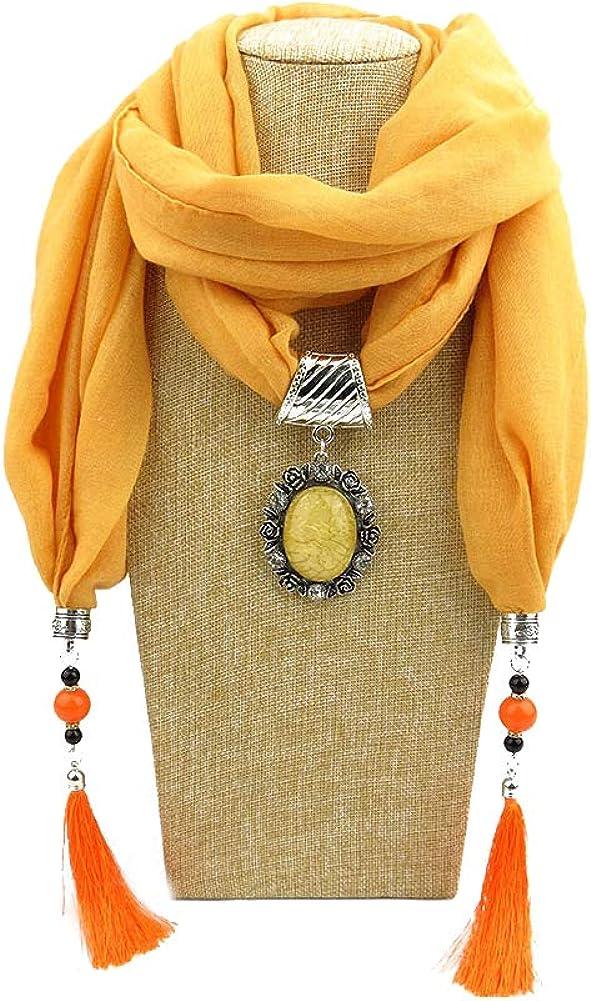 litymitzromq Womens Scarf Blanket Ethnic Solid Color Tassel Womens Autumn Winter Outdoor Soft Warm Scarf