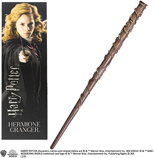 The Noble Collection Hermione Granger PVC Wand and Prismatic ...