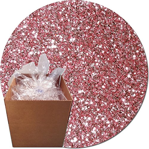 Glitter My World! Craft Glitter: 25lb Box: Carnation Pink by Glitter My World!