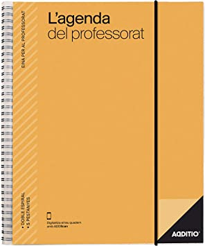 LAgenda del Professorat (La Agenda del Profesorado catalán) Additio, 2019-20