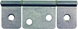 JR Products 70635 Non-Mortise Hinge - Satin Nickel