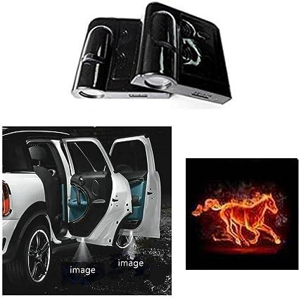 SOONDAR - Proyector de luz LED para puerta de coche con logotipo ...