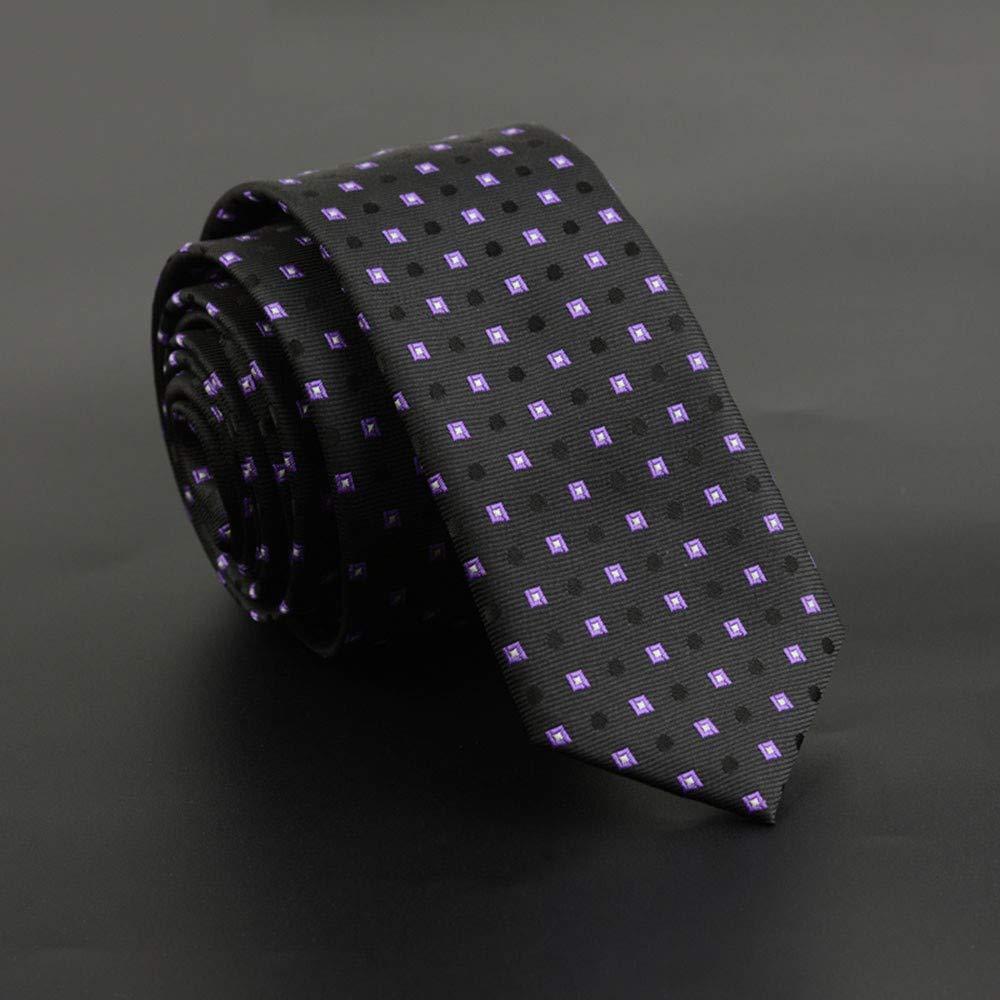 QEHWS Corbata Corbata Delgada para Hombres, Vestido De Corbata con ...