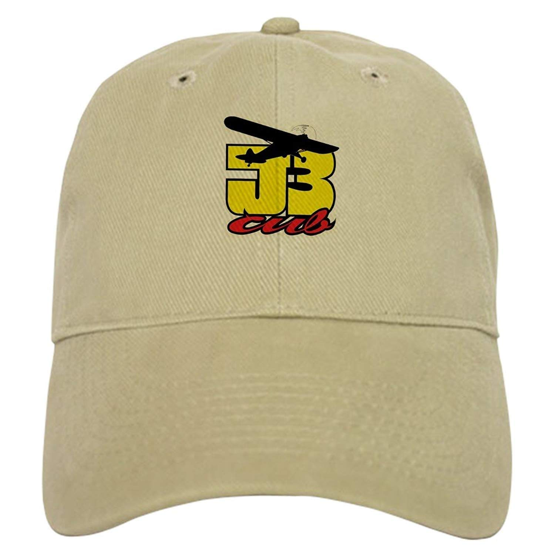 48fcbbda5a1 Amazon.com   Mouthdodo J-3 CUB - Baseball Cap with Adjustable Closure