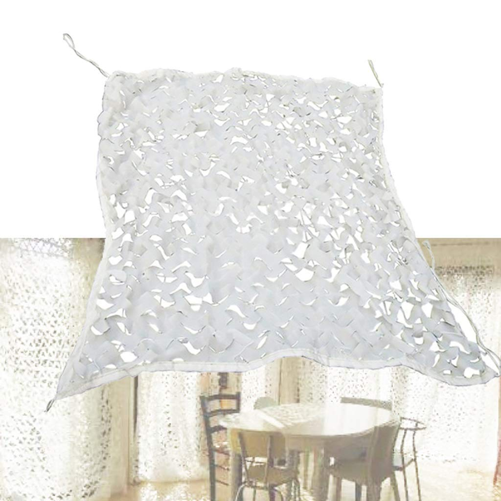 雪迷彩ネッティングホワイトCsキャンプアウトドア車の装飾衣料品店テーマアイスフィールドアレンジ (サイズ さいず : 5x6M) 5x6M  B07QSR433F
